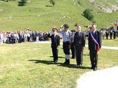 France likes célébrations and remembrance ( JUly 2014 les Chapieux Savoie France)