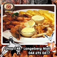 Although the Cattle Baron Mossel Bay is known for our superb steak dishes, we are known to make excellent seafood too. Try our Seafood Combo the next time you feel like something different. Really succulent prawns and calamari served with chips and sauces. #steakhouse #cuisine #seafooddishes Steak Dishes, Seafood Dishes, Calamari, Baron, Cattle, Chicken Wings, Sauces, Chips, How Are You Feeling
