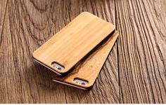 cool FLOVEME Real Wood Case for iPhone 6 6S 7 for iPhone 6 6S Plus 7 Plus Natural Wood Hard Back PhoneCover High Quality Durable Capa