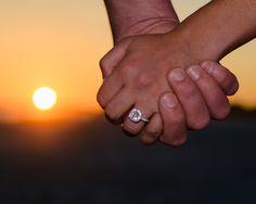 Such a beautiful portrait! Love this for engagement portraits! #DestinBeachPhotography #EngagementPortraits