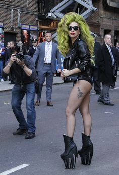 In pictures: #LadyGaga steps out in 16 outrageous outfits.. in just ONE WEEK http://www.dailyrecord.co.uk/entertainment/celebrity/pictures-lady-gaga-steps-out-3364235