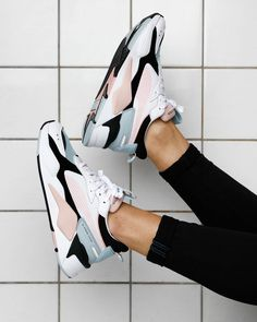 """826bc7ee6cb0b Supplying Girls With Sneakers on Instagram  """"Raise your feet in the air if  you re looking for a fresh pair of pastel sneaks  Meet the PUMA RS-X  Reinvention"""
