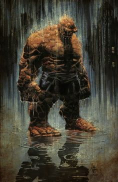 Ben Grimm THING by Mike Deodato Jr