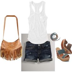 simply laid back. My first polyvore outfit :)