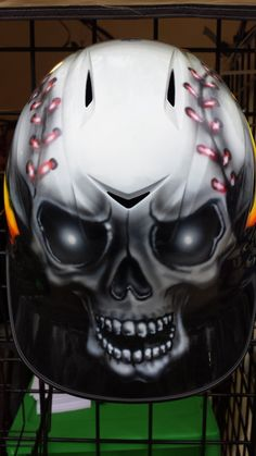 Custom Airbrush Batting helmet, baseball helmet, softball helmet, personalized baseball helmet, custom helmet