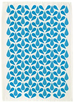 Tea Towel, designed and printed by One Sugar Please / Rebecca Emery
