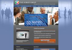 The Dorsey Group / Website design by re:DESIGN