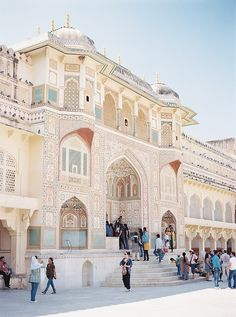 Amer Fort Palace - Jaipur, India. Jaipur is the Paris of India full of monuments and sites to see