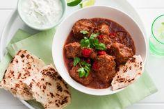 Slow-cooker goat vindaloo curry
