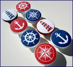 nautical drawer knob custom ocean drawer knob beach decor beach