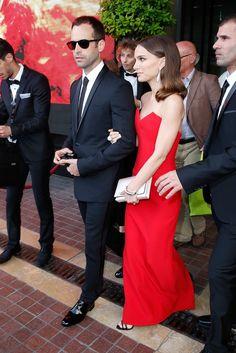 Pin for Later: Tous les Yeux Étaient Braqués Sur Natalie Portman et Benjamin Millepied à la Cérémonie D'ouverture du Festival de Cannes