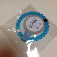 Lokai bracelet.  Limited blue color Limited color.   Special edition blue.  Find your balance bracelet.   You can't buy the blue anymore Lokai Jewelry Bracelets