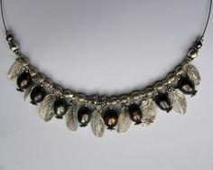 Necklace Art Clay Silver, Tahiti Pearl Tahiti, Clay, Jewellery, Pearls, Silver, Art, Clays, Art Background, Jewels