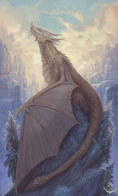 Bronze dragon by Elizanel on DeviantArt Fantasy Dragon, Fantasy Rpg, Medieval Fantasy, Fantasy Artwork, Weird Creatures, Fantasy Creatures, Mythical Creatures, Florence Welch, Pentatonix