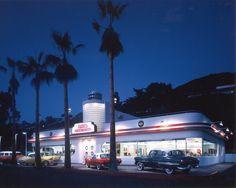 Ruby's Diner in Laguna Beach. #California