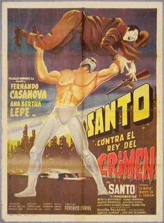Santo contra el rey del crimen (Santo vs. The King of Crime, 1961