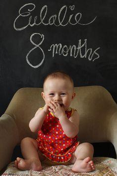 Baby monthly pics