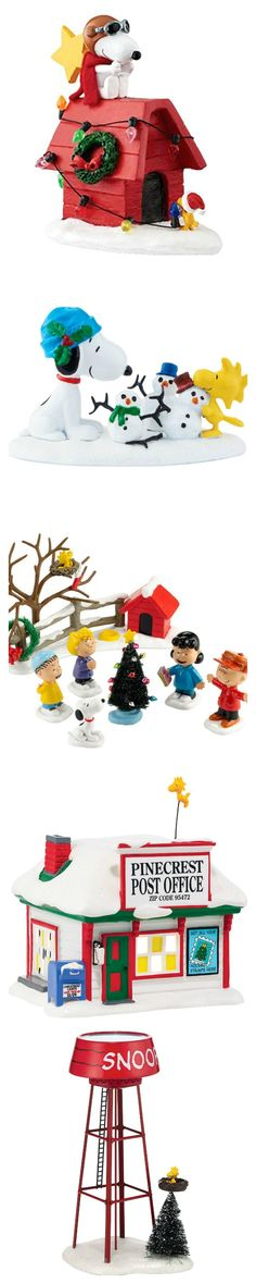 Time to decorate for Christmas, Snoopy! What's new in the Peanuts Holiday Village from Department 56? Take a stroll through the latest offerings available via CollectPeanuts.com.