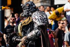 Fallout Brotherhood of Steel T-45d armor cosplay