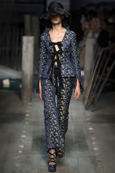 Vogue Runway's Sarah Mower picks the 8 definitive collections of London Fashion Week: Erdem.