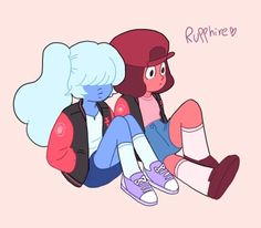Ruby and Sapphy