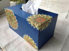 Handmade Hanji paper Tissue Case with Intricate by HanjiNaty, $59.00