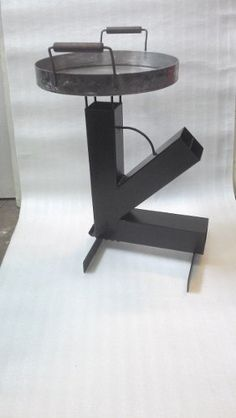 Cocina Rocket - $ 3.500,00 en Mercado Libre Rocket Stove Design, Diy Rocket Stove, Rocket Stoves, Barbecue Pit, Bbq Grill, Furnace Heater, Warehouse Design, Metal Working Tools, Metal Fabrication