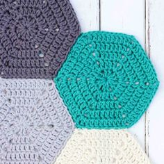 Learn how to join crochet hexagons, granny squares or other pieces together with a non-bulky, invisible seam. Perfect for afghans!