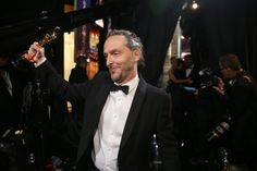 Backstage at the Oscars - in pictures