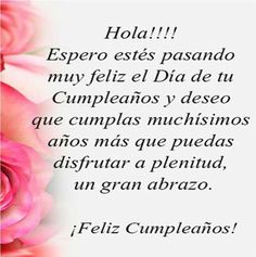 Birthday Quotes For Her Cards Sisters 68 Ideas Spanish Birthday Wishes, Birthday Wishes For Her, Birthday Quotes For Her, 1st Birthday Party For Girls, Birthday Poems, Happy Birthday Messages, Happy Birthday Images, Happy Birthday Greetings, Birthday Pictures
