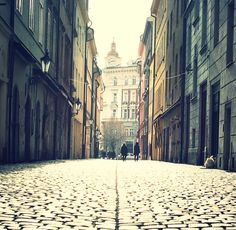 Beautiful lane in Prague
