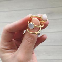 Styling by rikkesv showing Bubble Ring Pink Medium Gold, Bubble Ring Sky Blue Medium Gold and Bubble Ring Rose Small Gold #jewellery #Jewelry #bangles #amulet #dogtag #medallion #choker #charms #Pendant #Earring #EarringBackPeace #EarJacket #EarSticks #Necklace #Earcuff #Bracelet #Minimal #minimalistic #ContemporaryJewellery #zirkonia #Gemstone #JewelleryStone #JewelleryDesign #CreativeJewellery #OxidizedJewellery #gold #silver #rosegold #hoops #armcuff #jewls #jewelleryInspiration…