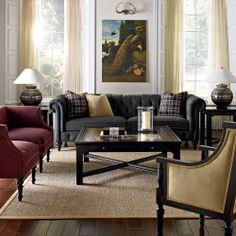 Bernhardt   Living Room Setting   Gallagher Sofa (B3177) (chesterfield)