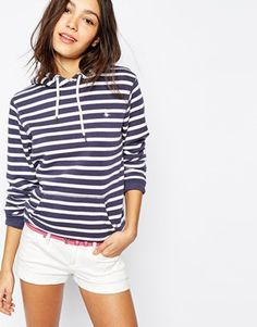 Jack Wills Striped Hoodie