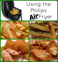 Recently SheSpeaks sent me a Philips AirFryer to use. I had heard about air fryers a bit but I was not really sure what it was until I looked it up. It is a small kitchen appliance for cooking food...