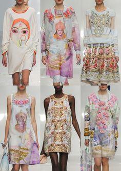 Manish Arora S/S 15 - Paris Womenswear Print Highlights Part 1 – Spring/Summer 2015 catwalks
