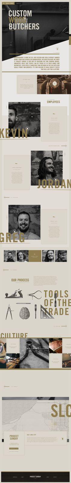by Nick Franchi - Landingpage 3 Webdesign Inspiration, Website Design Inspiration, Layout Inspiration, Graphic Design Inspiration, Interface Web, Interface Design, Web Layout, Layout Design, Ui Design