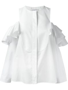Shop Viktor & Rolf off-the-shoulder shirt in Stefania Mode from the world's best independent boutiques at farfetch.com. Over 1000 designers from 300 boutiques in one website.