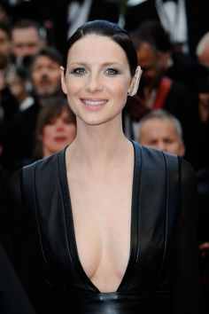 HQ Pictures of Caitriona Balfe and the cast of 'Money Monster' at the Cannes Film Festival Premiere See more pictures after the jump