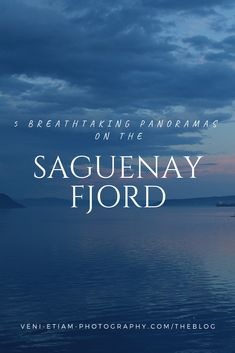 If you're planning a trip to the Saguenay fjord in Saguenay Lac St Jean, Quebec, Canada, here are 5 breathtaking panoramas not to miss. Saguenay Quebec, St Lawrence, Visit Canada, Newfoundland And Labrador, New Brunswick, Us Travel, Tourism, Road Trip, Travel