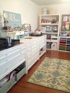 Hi everyone! I've been receiving quite a few emails requesting to show what is inside my craft room cabinets. I have to say that I am very ...