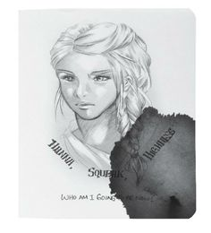 Gemina Illustration from Hanna's Journal by Marie Lu