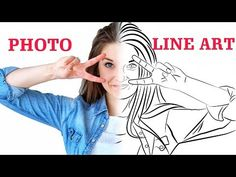 Convert Photo to Line Portrait Vector - Tutorial - Inkscape Inkscape Tutorials, Cricut Tutorials, Design Tutorials, Photo To Line Drawing, Photo Drawing Apps, Convert Photo To Cartoon, Bitmap To Vector, How To Make Photo, Line Art Vector