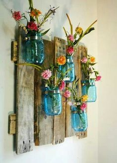 Pallet and jars