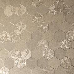 Foil Honeycomb Champagne – Arthouse Honeycomb Wallpaper, Metallic Wallpaper, Textured Wallpaper, Wallpaper Roll, Wallpaper Display, Buy Wallpaper Online, High Quality Wallpapers, Autocad, Home Deco