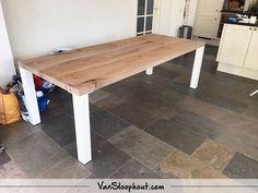 Piet hein eek design sloophout en salontafel
