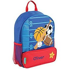 41c18caf66 Personalized Sidekick Backpack (All Sports) Personalized Toddler Backpack