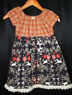 Natures Beauty toddler dress