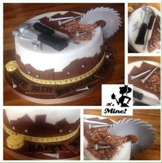 22 Best Woodworking Cakes Images In 2014 Cake Cake