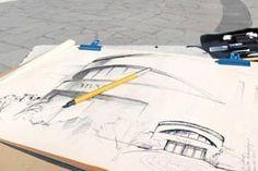 Zeichnen in der Normandie Kreativreisen